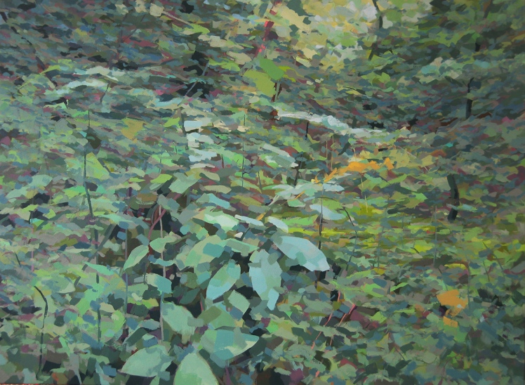 Tomperrow II, 2007, acrylic on linen, 100 x 150 cm