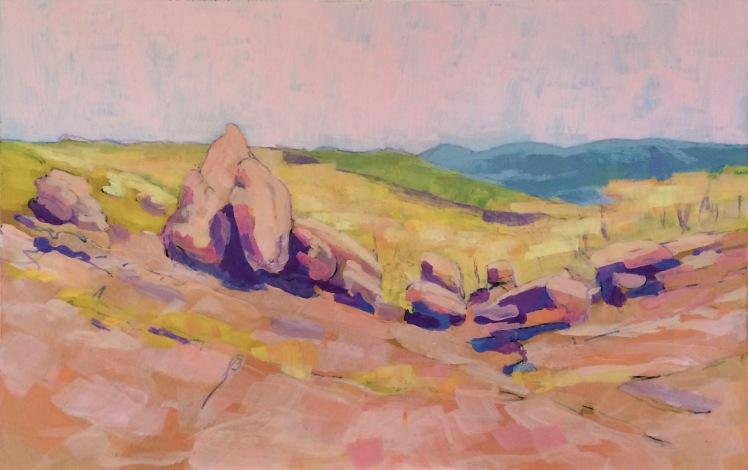 Grampians Wonderland Range 2, 2015, 18 x 28 cm