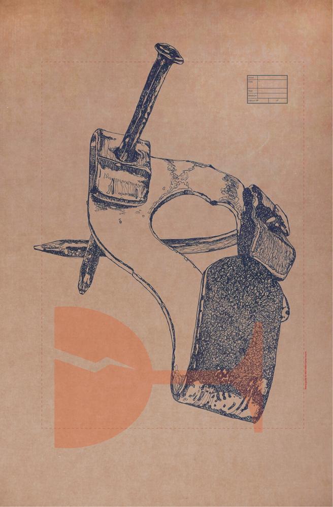 Middle Class Hero 2, 2015, digital print, 59 x 42 cm