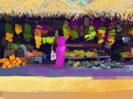 Fruit and Veg, digital sketch, 2016. ProCreate Pocket on iPhone 6