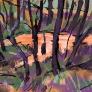 Winter Track sketch 0711