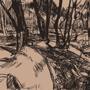 Winter Track sketch 0716
